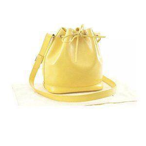 RARE Vintage Epi Yellow Neo Noe BB Crossbody Bag
